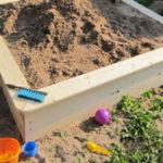 Как сделать песочницу. Особенности конструкции.